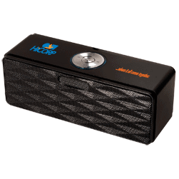 Bluetooth® Mini-Boom Speaker FM Radio