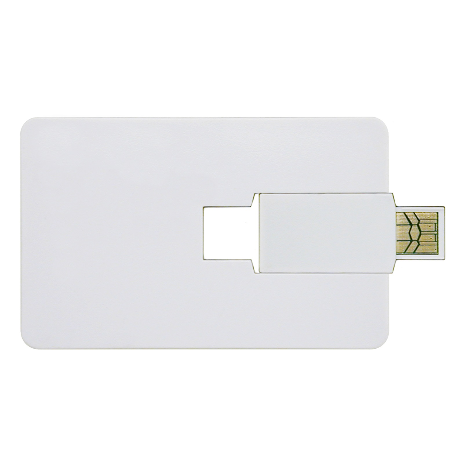 Credit Card USB Flash Drive - 2GB