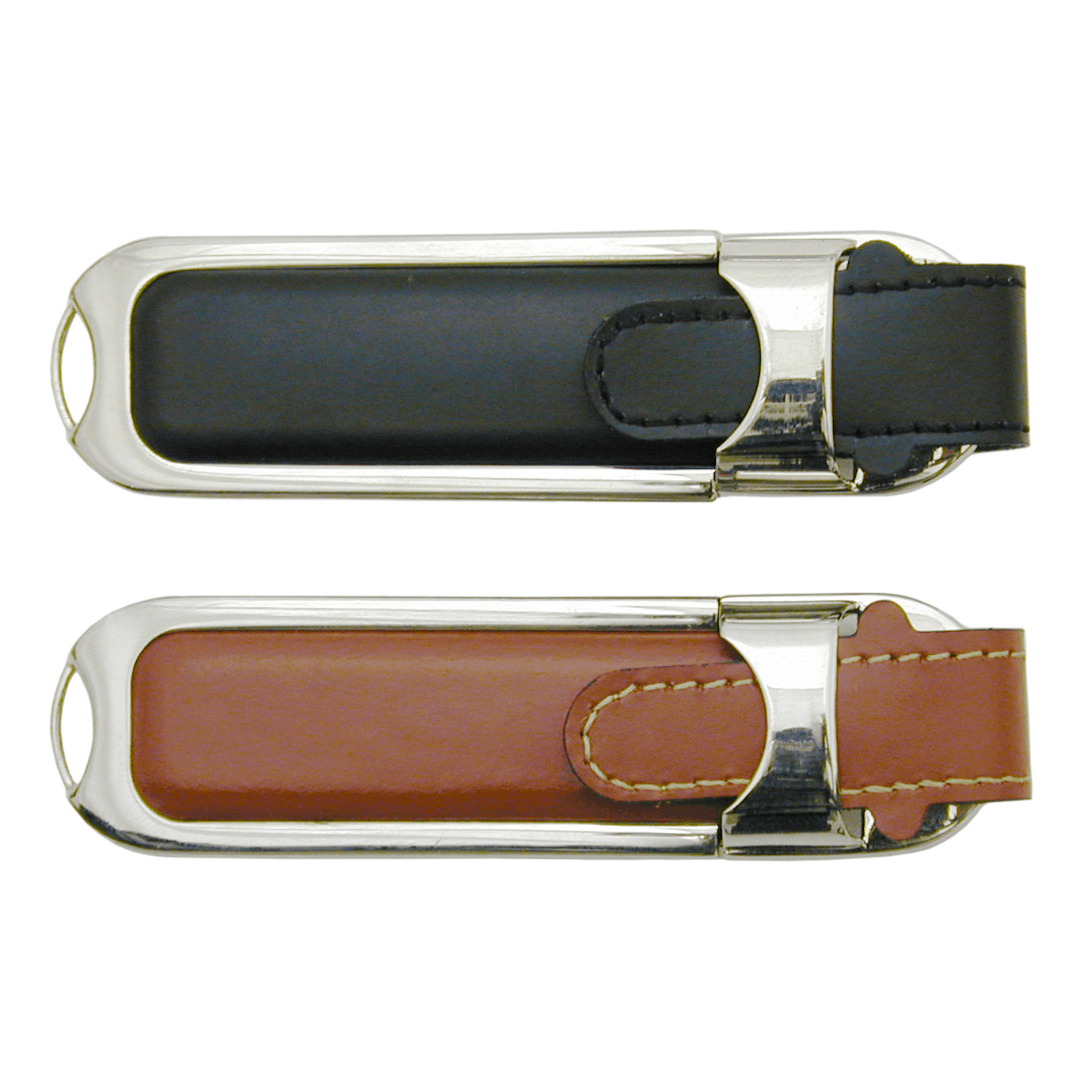 Genuine Leather USB Flash Drive - 1GB