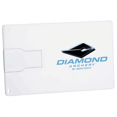 Slim Credit Card Flash Drive 2GB
