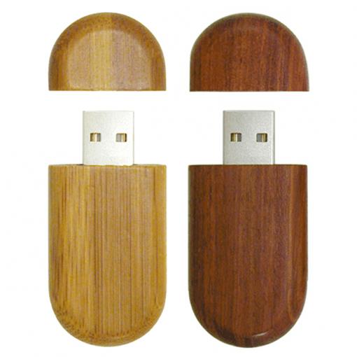 Wood USB Flash Drive - 8GB