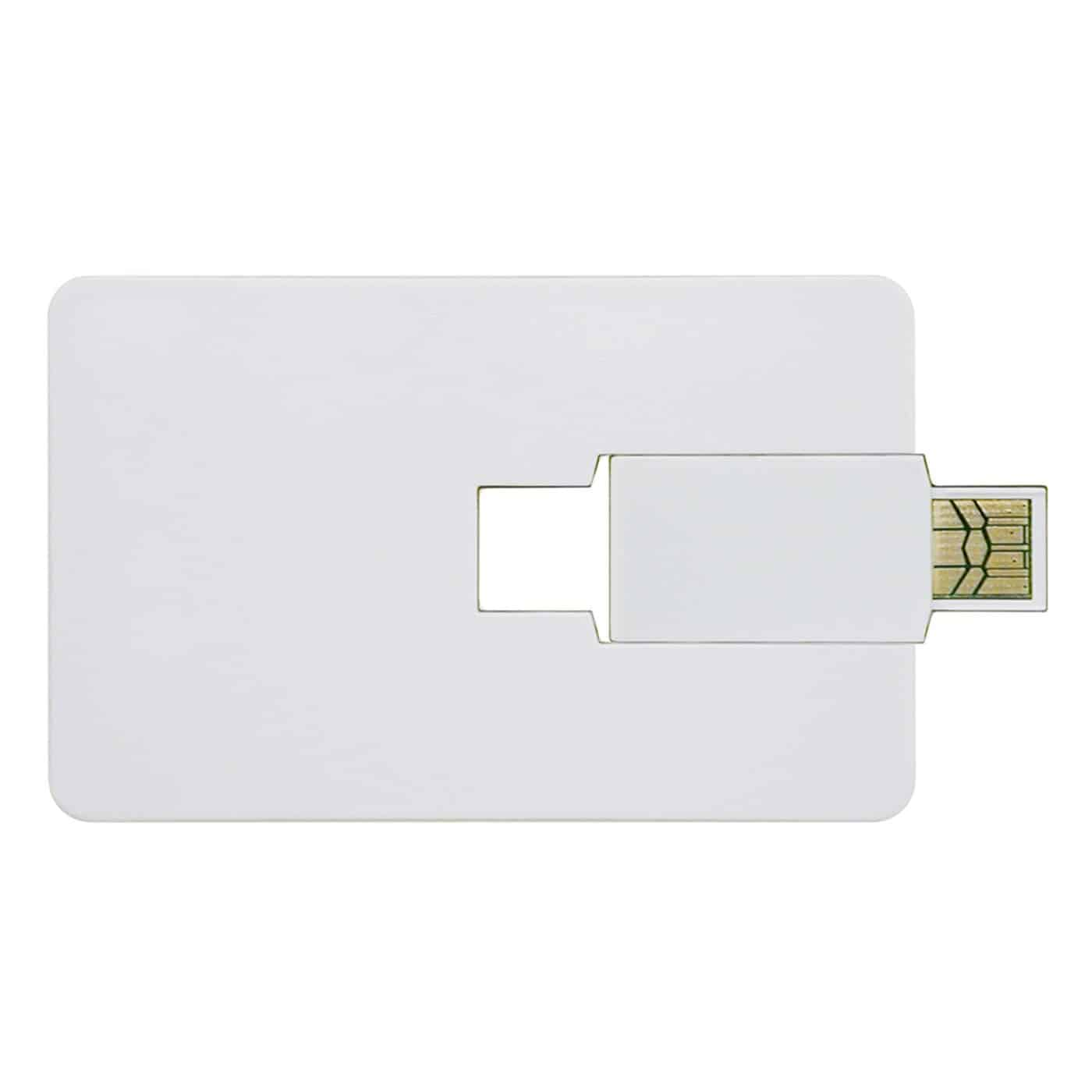 Credit Card USB Flash Drive - 4GB