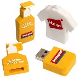 SourceAbroad® 2-D USB Flexi-Drive 2.0 - 1 GB