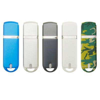 Chrome-Look USB Flash Drive - 32GB