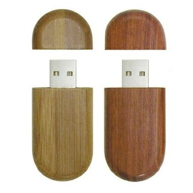 Wood USB Flash Drive - 1GB